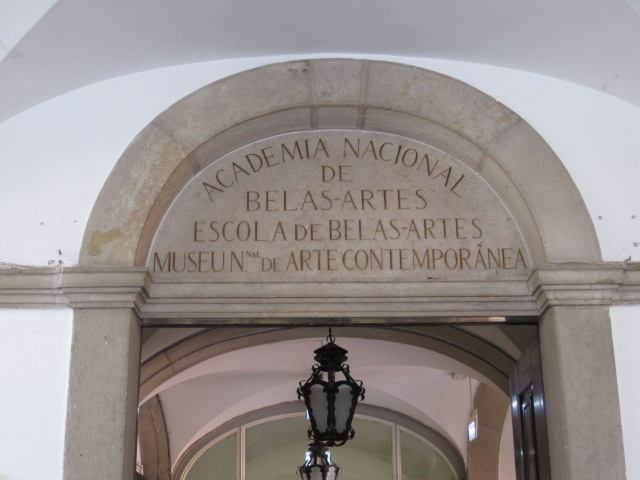 Fine Arts College University of Lisbon Entrance