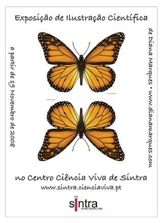 Scientific Illustration exhibition at the Science Center in Sintra