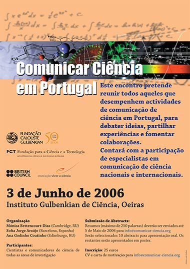 Communicating Science in Portugal Meeting