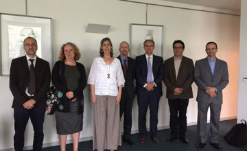 Photo of the jury at the PhD defense at the University of Porto