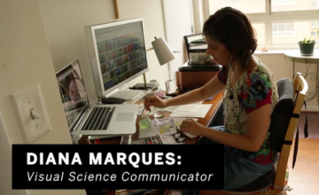 placeholder image for video Diana Marques: visual science communicator